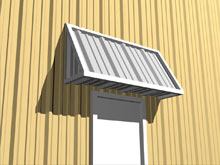 Awnings. Huddle Steelu0027s Broad Range Of Canopies Will Offer Shelter To  Locations That Have Indoor/outdoor Access. A Canopied Doorway Or Walkway  Can Help ...